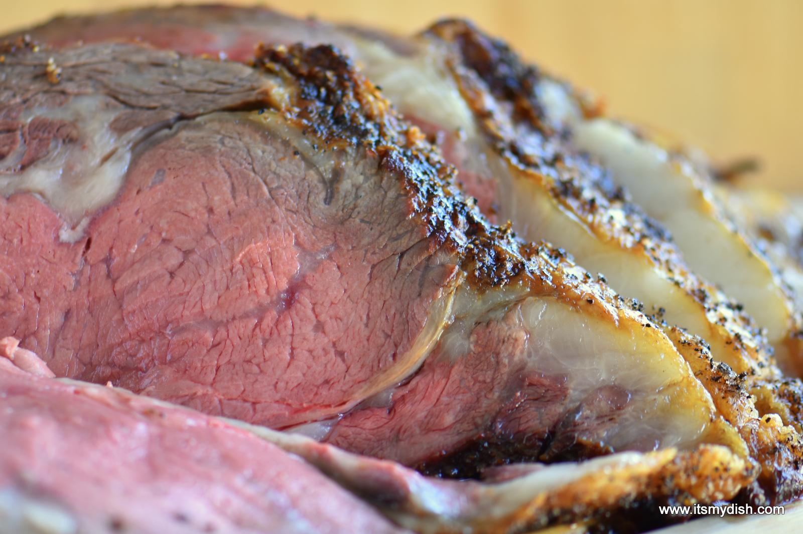 Standing Rib Roast (Prime Rib) - It's My Dish