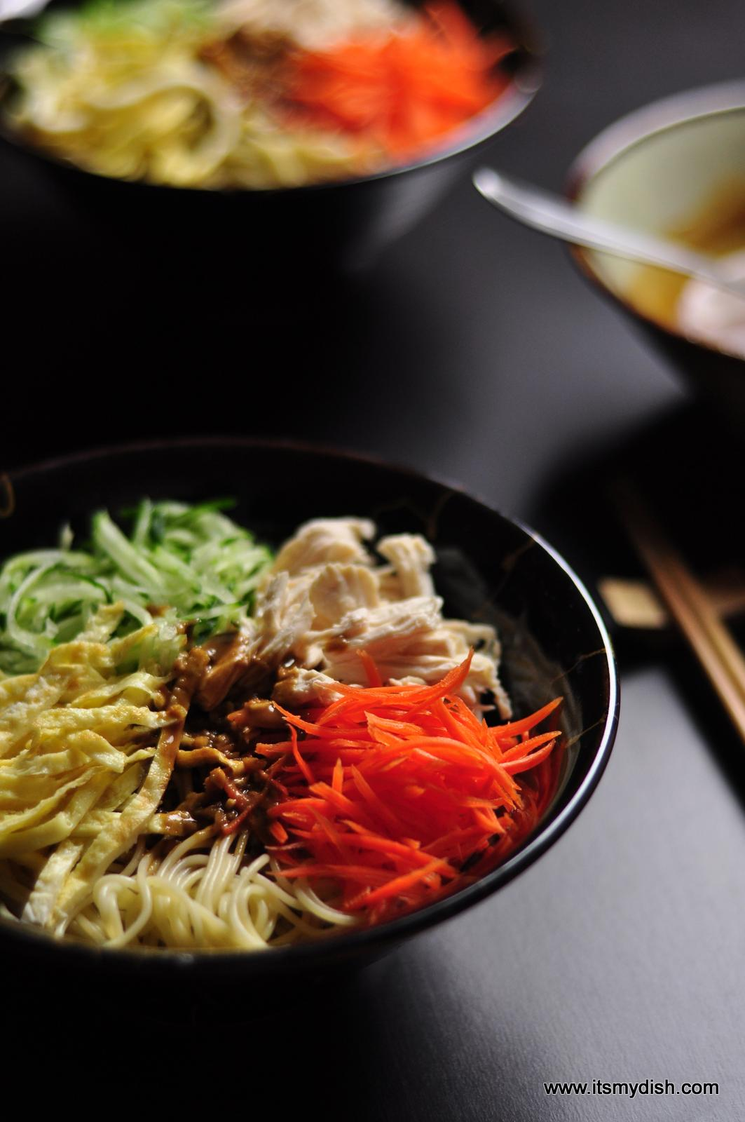 Chinese Cold Noodles 中華涼麵 It S My Dish