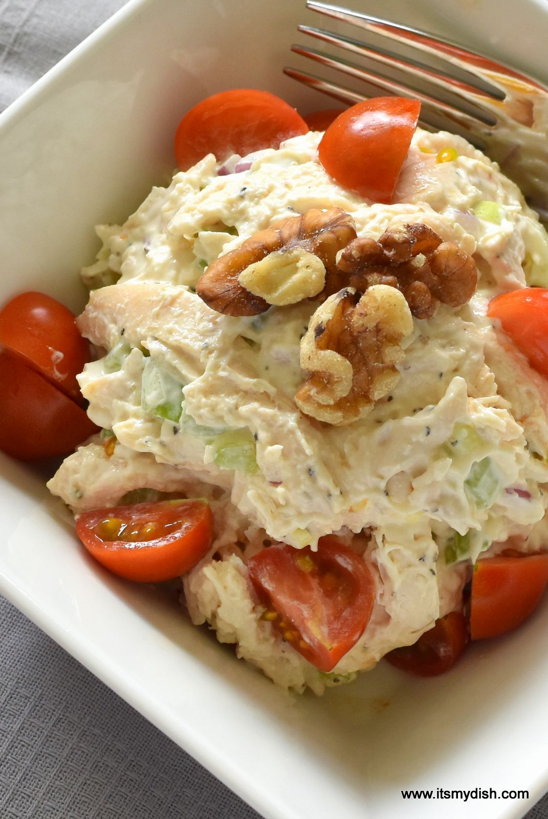 Basic Chicken Salad Recipe — Dishmaps