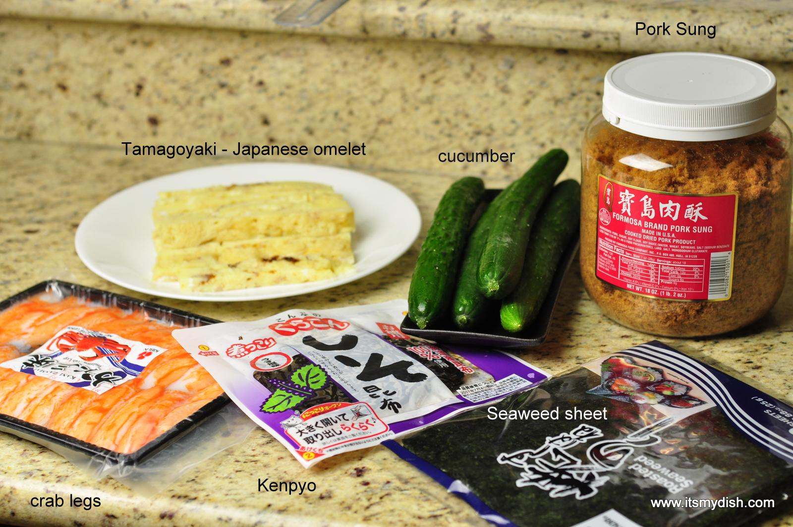 How to cook sushi