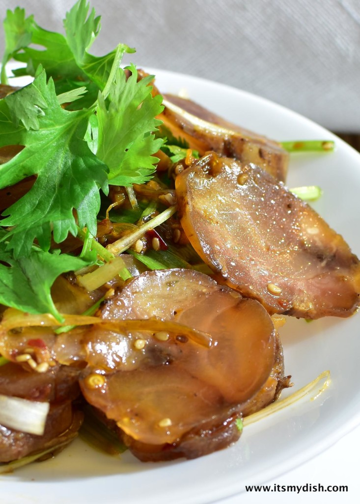 Sichuan Spicy Beef Tendons 涼拌牛筋 It S My Dish