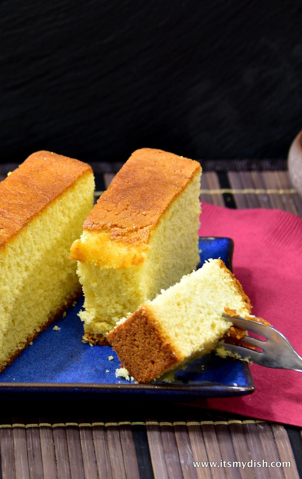 Japanese Castella Cake Recipe