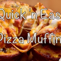 pizza muffin - title